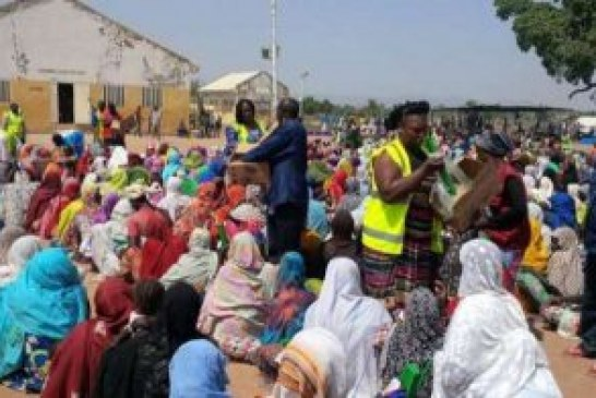 WFP suspends food distribution to IDPs in Borno