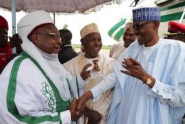 Residents welcome Buhari in Daura for Eid-el-Kabir