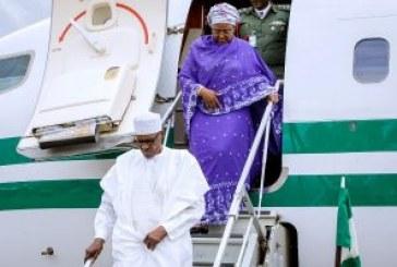 Buhari back home from UNGA