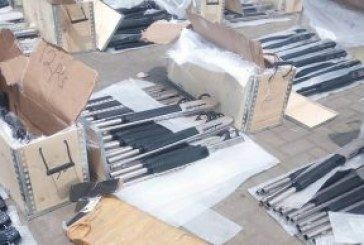 Another 2,671 riffles intercepted by customs