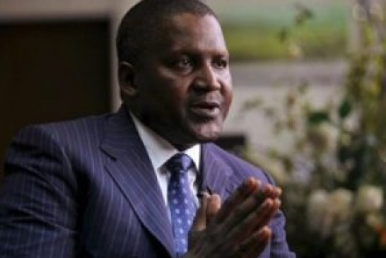 Dangote bids for South African cement company