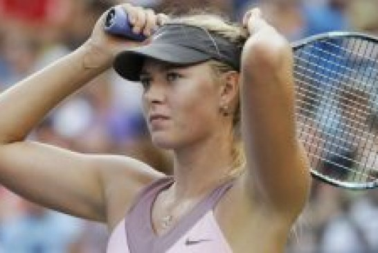 Sharapova knocked out of US Open