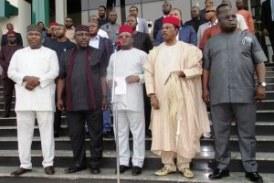 Buhari meets governors over 30,000 minimum wage