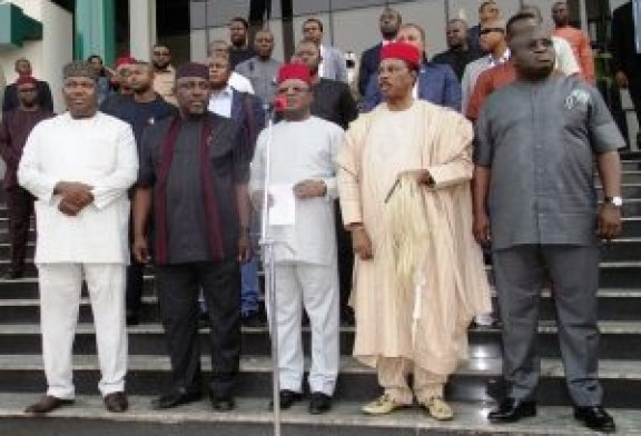 Buhari meets governors over 30,000 minimum wage