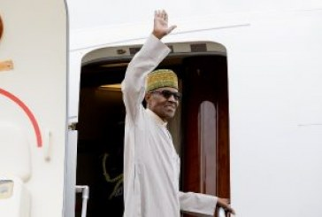 Buhari leaves for USA