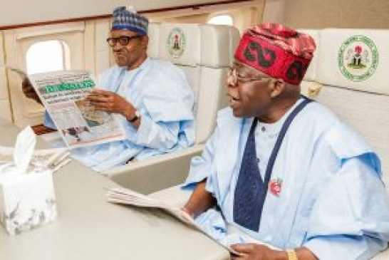 Buhari, Tinubu leave for EU-AU summit