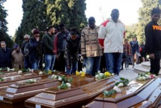 Italy buries 26 Nigerian girls