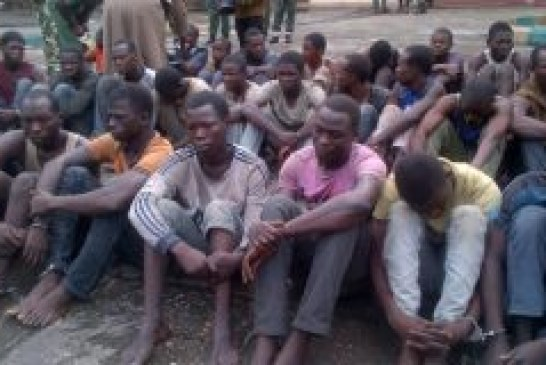 Hundreds of Boko Haram suspects docked in Kainji