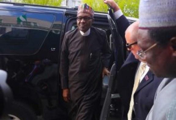 Buhari arrives Hague ahead of ICC's 20th anniversary