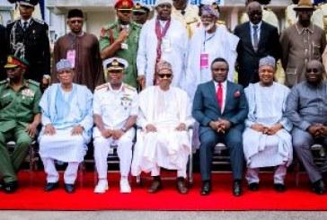 Buhari commissions Naval hospital in Calabar