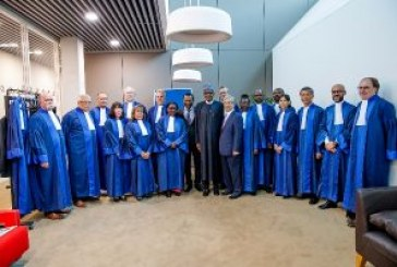 Buhari drums support for ICC