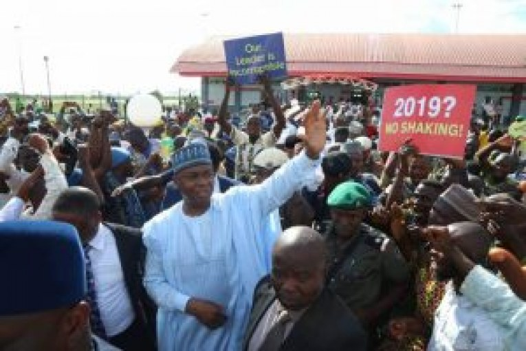 Supreme Court acquittal: Supporters welcome Saraki in Ilorin