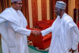 Buhari meets Bichi, new DSS Director General
