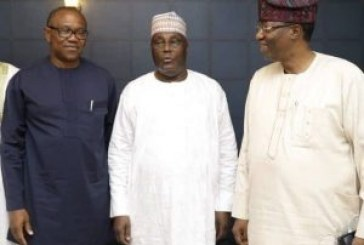 Atiku picks ex-governor Peter Obi as running mate