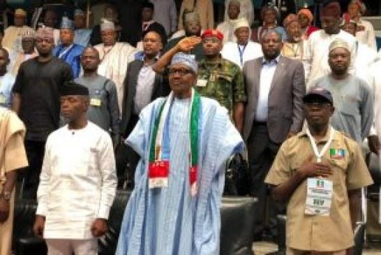 Buhari flags off campaign in Uyo