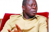 Oshiomhole lambasts Obasanjo, Atiku