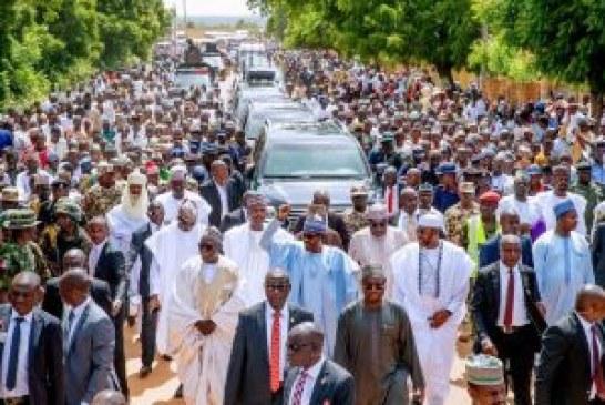 Buhari in Warri, promises quality leadership