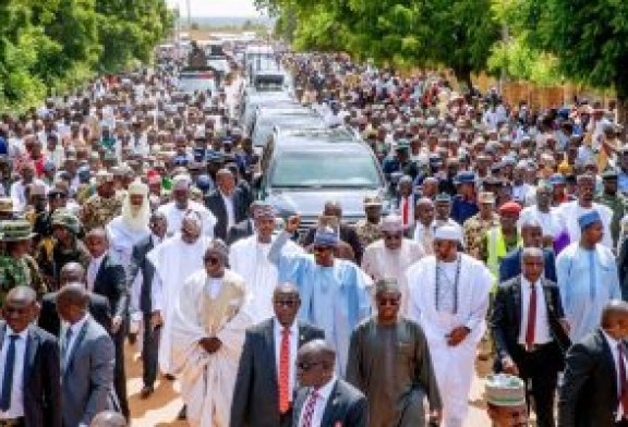 Buhari in Warri, promises quality leadership