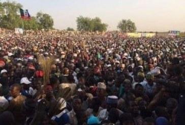 Buhari storms Sokoto, commits to three cardinal programmes