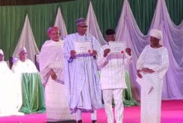 Buhari wins Presidential elections, gets certificate of return