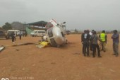Helicopter carrying Osinbajo crash lands in Kogi