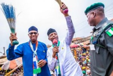 Osinbajo, Osoba assure of peaceful polls