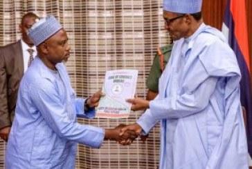 Buhari declares assets ahead of inauguration
