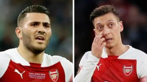 Arsenal's Ozil, Kolasinac attacked by Carjacking gang